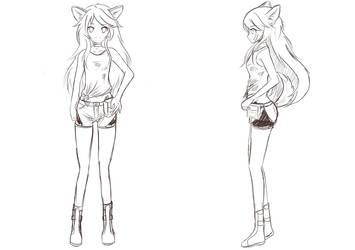 Seven Seasons Chloe Sketch