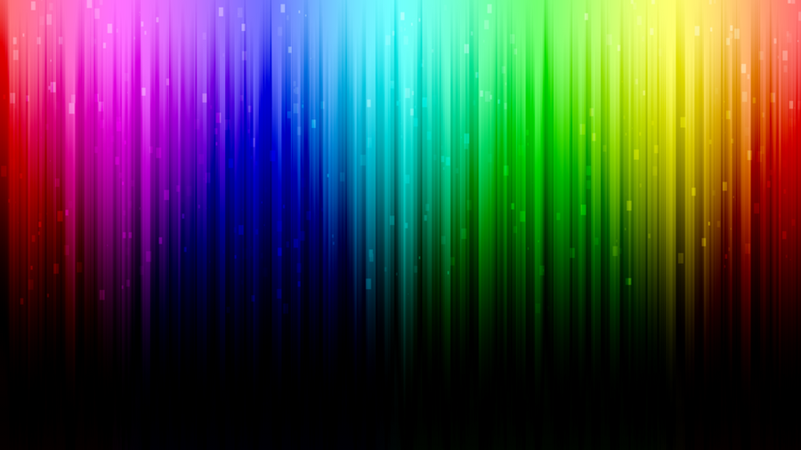 Digital Rainbow desktop background by Toreshii-Chann on ...