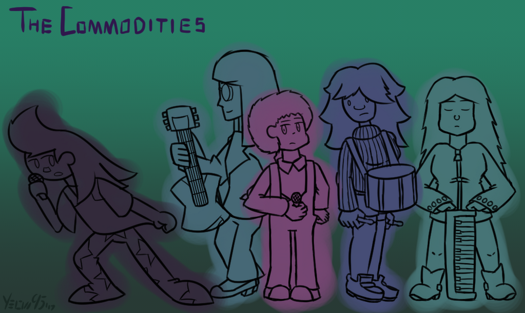 The Commodities - Sketch by Yeow95