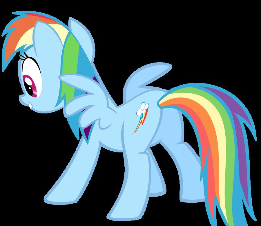 Rainbow Dash Plot Rainbow Dash post-poun...