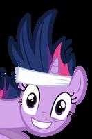 Twilight's Crazy Face by xzenocrimzie