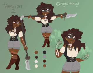 Jasmine's ref version 2: Caplata style