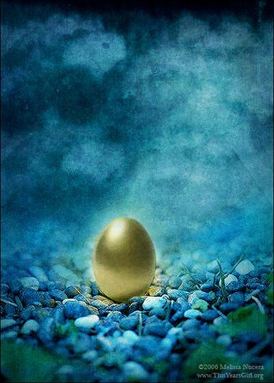 The Golden Egg - Myth by ThisYearsGirl
