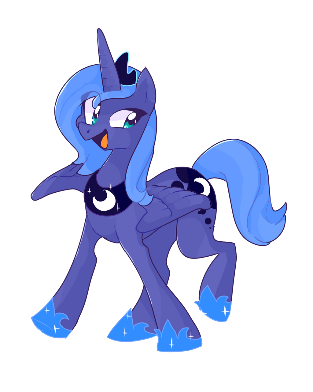 miss luna by iyd