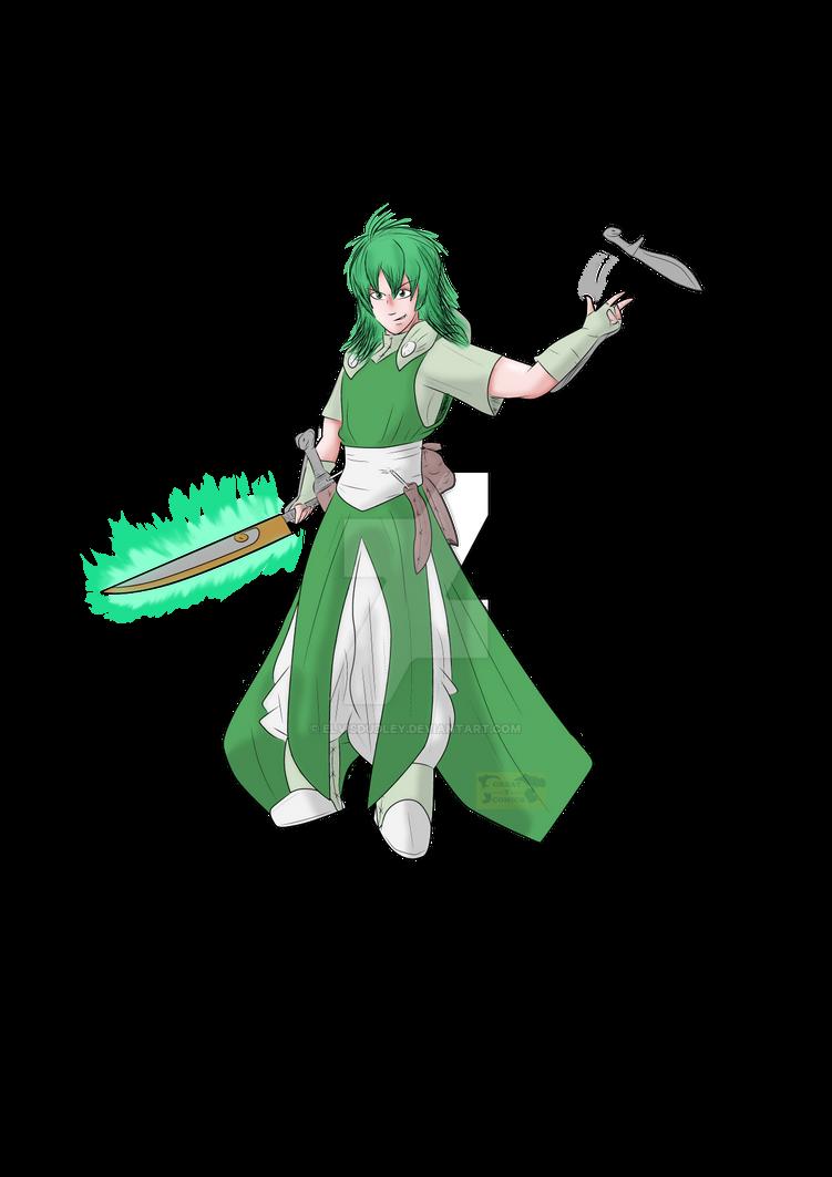Character Art - Marcus OTVC (Colourised)