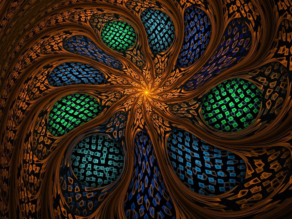 Crackle Flower by SuicideBySafetyPin