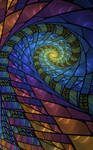 STAINED SPIRAL