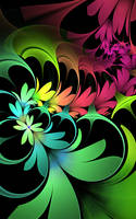 Split Flowers by SuicideBySafetyPin