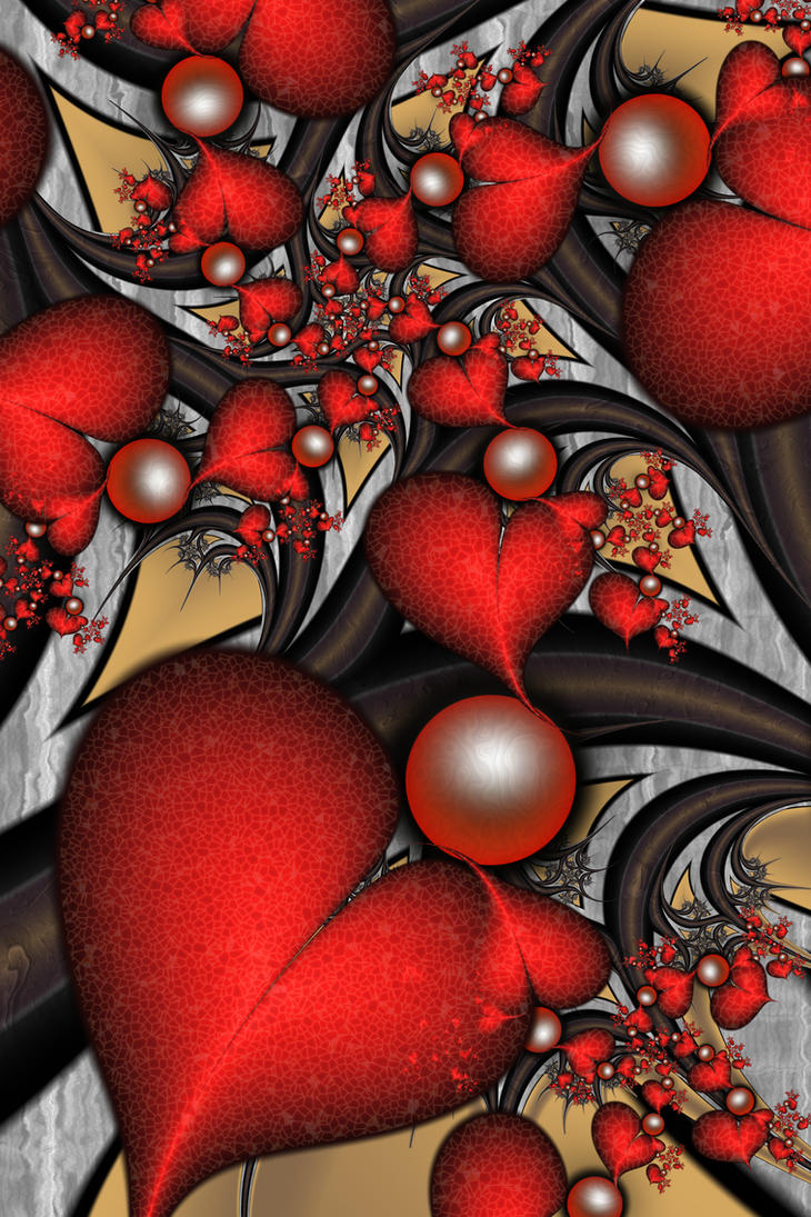 Christmas Hearts by SuicideBySafetyPin