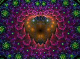 Heart Escher by SuicideBySafetyPin