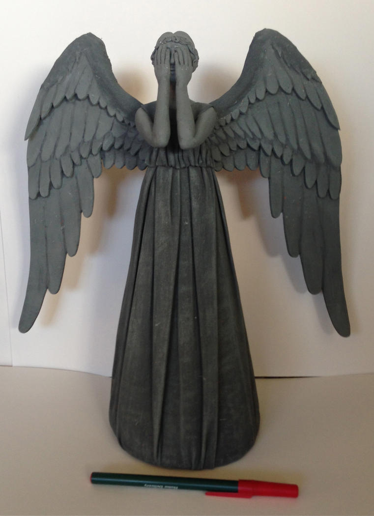 Weeping Angel Tree Topper (Doctor Who) by Smilodonna on DeviantArt