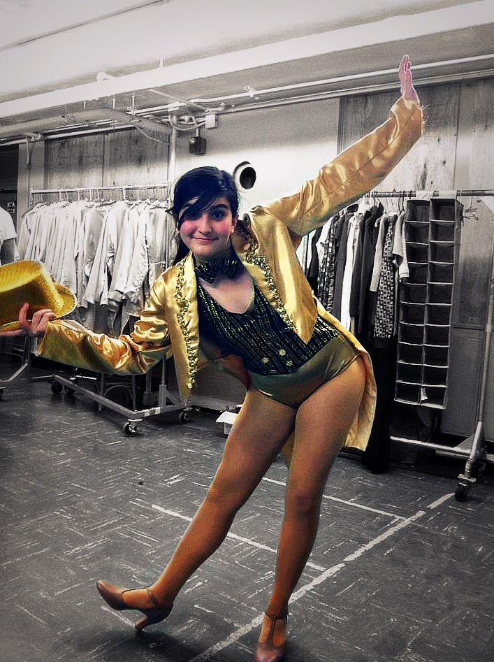 my chorus line costume by ms-guppy