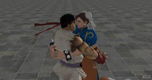 Ryu X Chun-li 1