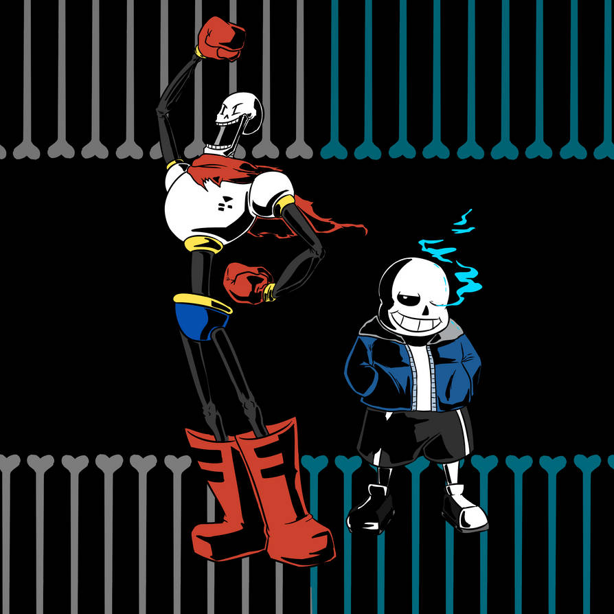 Sans and Papyrus by EarthGwee on DeviantArt