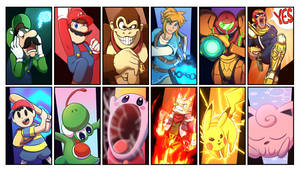 Smash Bros 64 Roster
