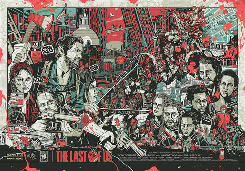 'The Last of Us' Poster (by VillainFace)