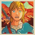 Scaredy Link - Breath of the Wild