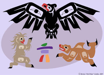 Olympic Mascots- Adult Version by tarkheki