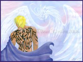 Fai Fluorite:The White Phoenix by tarkheki