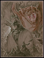 Batman by tarkheki