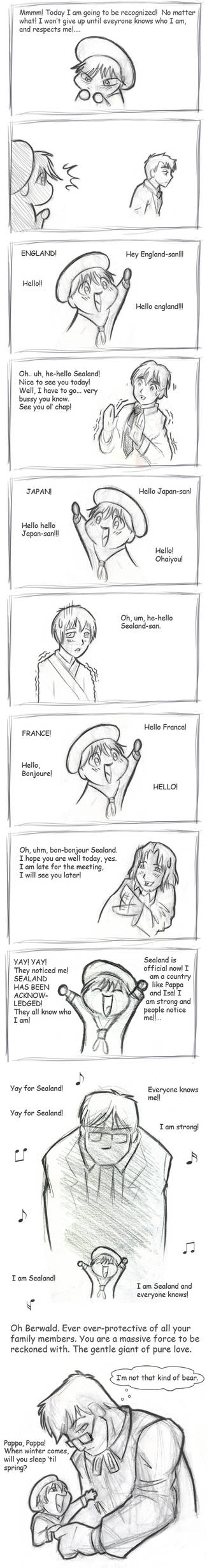 Sealand Acknowledged