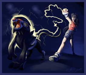 Morgana and Luxray