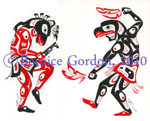 Horse and Eagle Dancers