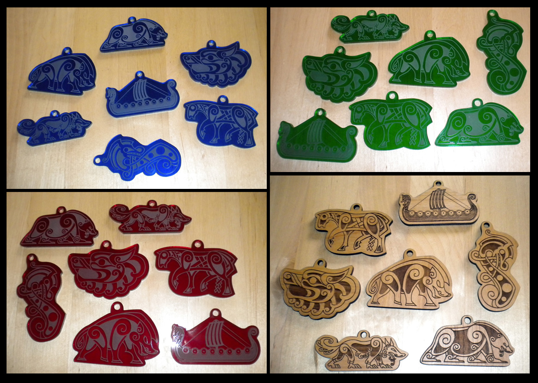 Norse Pendant Pre-order!! 7 designs! by tarkheki
