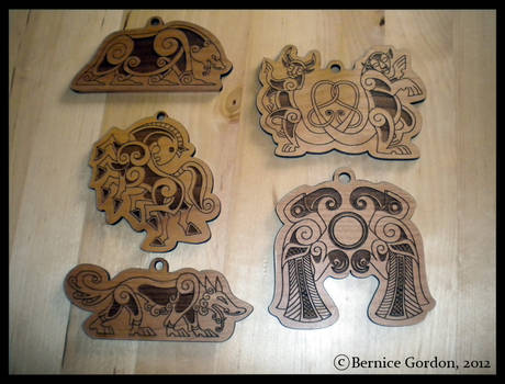 Norse Christmas Ornaments Pre-Order! 5 Styles!