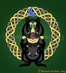 Faux Knots Moonbear