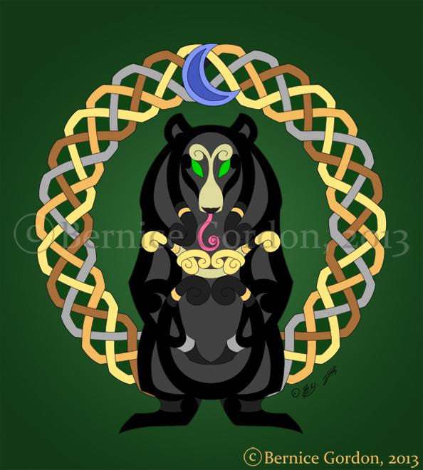Faux Knots Moonbear by tarkheki