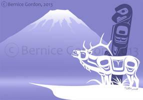 Eagle and Elk by tarkheki