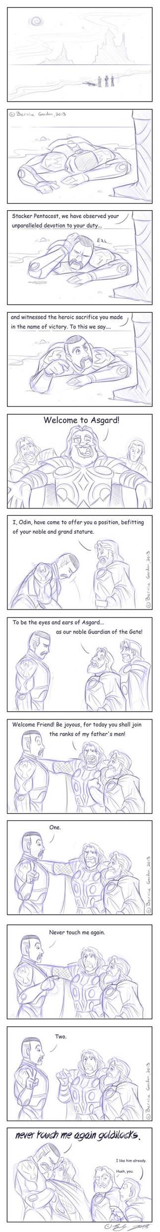 Pacific Rim - Thor crossover: Goldilocks