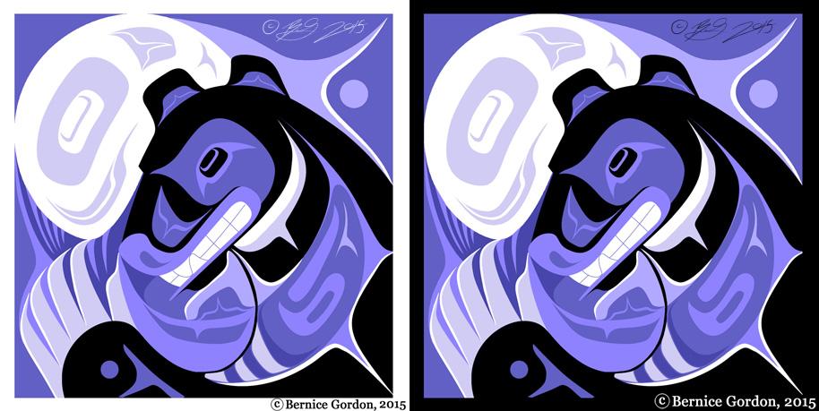 Black Bear Moon - Woman by tarkheki