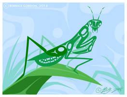 Praying Mantis NWP by tarkheki