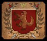Heraldic Crest- Wolverine