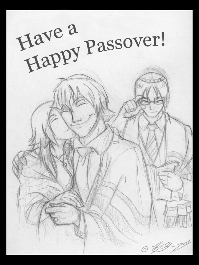 Happy Passover by tarkheki