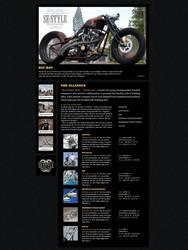 SE Style website design by kalabalik