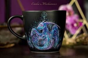 Purple dragon by Evidriell