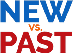 New VS. Past logo