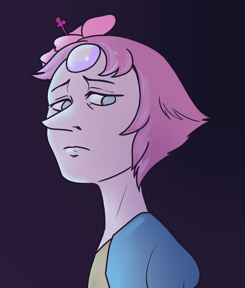 just a tiny redraw because I am utterly obsessed with Pearl at the moment.... Steven Universe does not belong to me