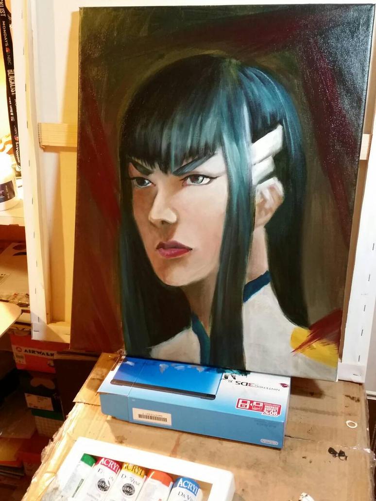 Satsuki Kiryuin by idont0know