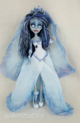 Corpse Bride Doll by Skeriosities