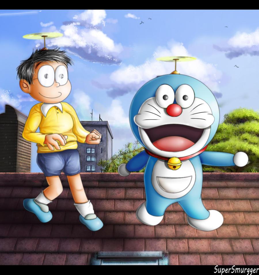 Doraemon Real: Nobita And Doraemon By SuperSmurgger On DeviantArt