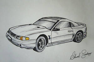Mustang GT by Dragonis0