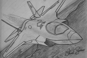 Lockheed Martin F-35 Lightning II stealth fighter by Dragonis0