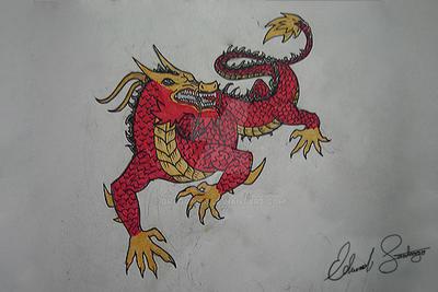 Dragon Tattoo by Dragonis0