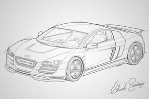 Audi R8 Vector