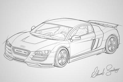 Audi R8 Vector by Dragonis0