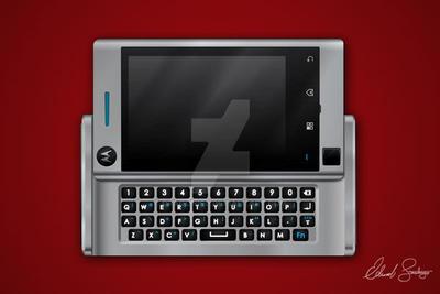Motorola Devour Vector Illustration by Dragonis0